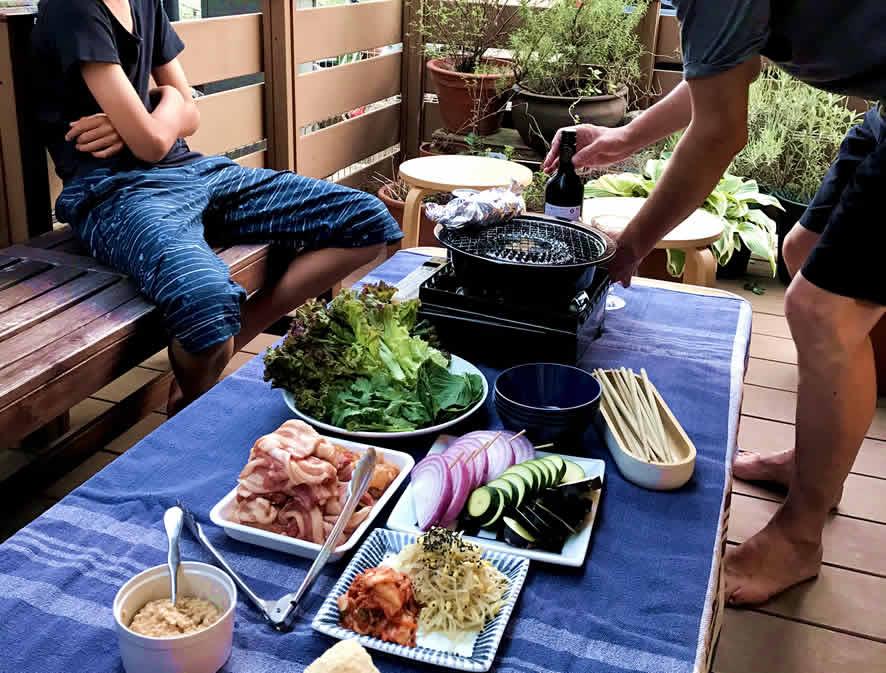 BBQ ベランダバーベキューを楽しむために!我が家のベランダバーベキュー。グッズも紹介します。
