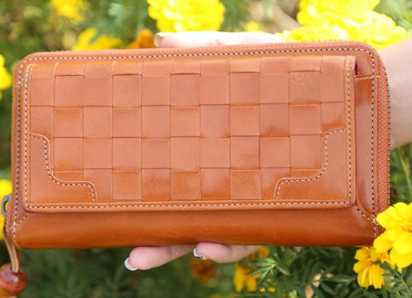 シンプルなお財布にもなる お財布ポシェット