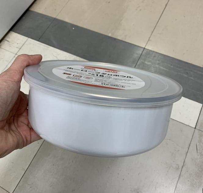 ダイソー スコップケーキの容器